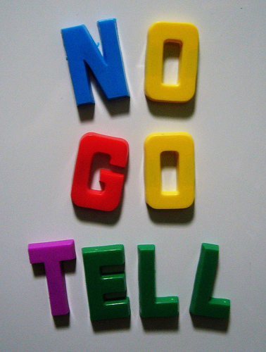 no-go-tell